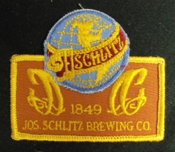 Schlitz Beer Uniform Patch