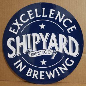 Shipyard Beer Tin Sign