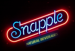 Snapple Beverages Neon Sign