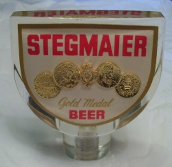 Stegmaier Gold Medal Beer Tap Handle