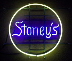Stoney's Neon Beer Bar Sign Light beer sign collection MY BEER SIGN COLLECTION 2 – Not for sale but can be bought… stoneys