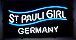 St Pauli Girl Germany Beer Neon Sign [object object] Home stpauligirlgermanymini