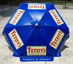 Tetleys English Ale Patio Umbrella