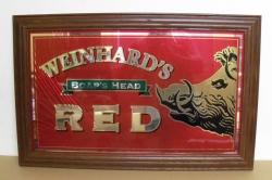 Weinhards Red Beer Mirror