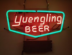 Yuengling Beer Neon Bar Sign Light beer sign collection My Beer Sign Collection 2 – Not for sale but can be bought… yuenglingbeer