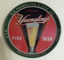 Yuengling's Fine Beer Bar Tray my beer sign collection MY BEER SIGN COLLECTION 2 – Not for sale but can be bought… yuenglingsfinebeer