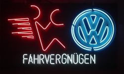 my beer sign collection MY BEER SIGN COLLECTION 2 – Not for sale but can be bought… VW dealer sign