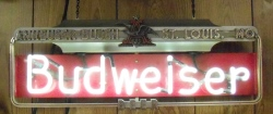 MY BEER SIGN COLLECTION – Not for sale but can be bought… budweiserbeerartdeco55105