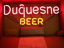 MY BEER SIGN COLLECTION – Not for sale but can be bought… duquesnebeernos 1