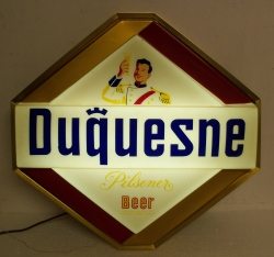 MY BEER SIGN COLLECTION – Not for sale but can be bought… duquesnepilsenerbeer1959light