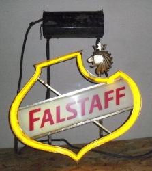 MY BEER SIGN COLLECTION – Not for sale but can be bought… falstaffhanger1966