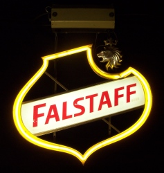 MY BEER SIGN COLLECTION – Not for sale but can be bought… falstaffhanger1967