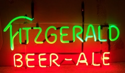 MY BEER SIGN COLLECTION – Not for sale but can be bought… fitzgeraldbeerale