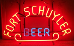 MY BEER SIGN COLLECTION – Not for sale but can be bought… fortschuylerbeerhanger