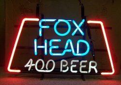 MY BEER SIGN COLLECTION – Not for sale but can be bought… foxhead400beerhanger