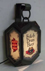 MY BEER SIGN COLLECTION – Not for sale but can be bought… fyfedrumbeerlight1965side