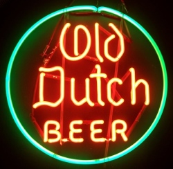 my beer sign collection MY BEER SIGN COLLECTION 2 – Not for sale but can be bought… olddutchbeer 1