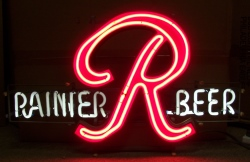 beer sign collection MY BEER SIGN COLLECTION 2 – Not for sale but can be bought… rainierbeer1972