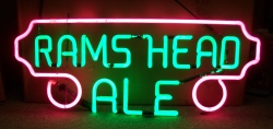 my beer sign collection MY BEER SIGN COLLECTION 2 – Not for sale but can be bought… ramsheadalegreen