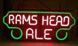 my beer sign collection MY BEER SIGN COLLECTION 2 – Not for sale but can be bought… ramsheadalered