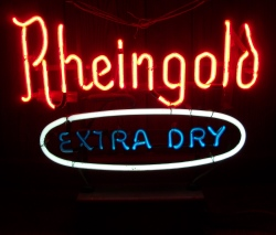 my beer sign collection MY BEER SIGN COLLECTION 2 – Not for sale but can be bought… rheingoldextradrymini1962