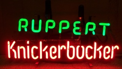 beer sign collection MY BEER SIGN COLLECTION 2 – Not for sale but can be bought… ruppertknickerbockerminihanger