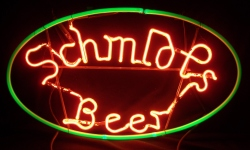 my beer sign collection MY BEER SIGN COLLECTION 2 – Not for sale but can be bought… schmidtsbeerhanger