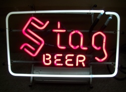 my beer sign collection MY BEER SIGN COLLECTION 2 – Not for sale but can be bought… stagbeer1959