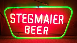 my beer sign collection MY BEER SIGN COLLECTION 2 – Not for sale but can be bought… stegmaierbeertrapezoid
