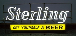 my beer sign collection MY BEER SIGN COLLECTION 2 – Not for sale but can be bought… sterlinggetyourselfabeer1966