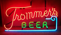 my beer sign collection MY BEER SIGN COLLECTION 2 – Not for sale but can be bought… trommersbeerhangerused