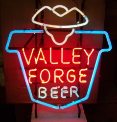 beer sign collection My Beer Sign Collection 2 – Not for sale but can be bought… valleyforgebeerhanger