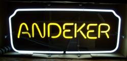Andeker Beer Neon Sign