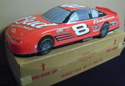 Budweiser NASCAR Earnhardt Car Sign