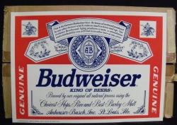 Budweiser Beer Label Sticker