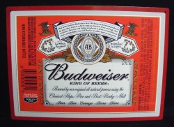 Budweiser Beer Magnetic Puzzle Sign