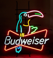 Budweiser Beer Toucan Neon Sign