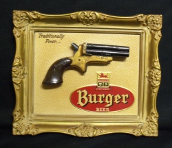 Burger Beer Sign
