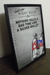 Coors Light Beer Dry Erase Board