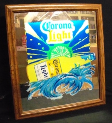 Corona Light Beer Bar Lighted Mirror Corona Light Beer Bar Lighted Mirror coronalightlightedmirror