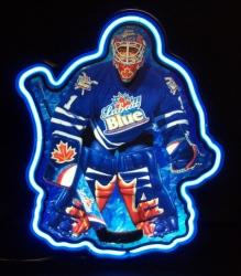 Labatt Blue Hockey Neon Beer Bar Sign Light