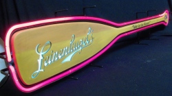 Leinenkugel Paddle Neon Beer Bar Sign Light #0: leinenkugelspaddleneonused