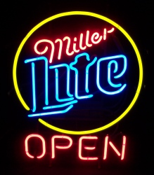 Lite Beer Open Neon Sign