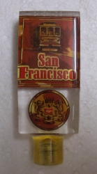 Miller Rare San Francisco Beer Bar Tap Handle