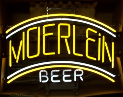Moerlein Beer Neon Sign beer sign collection My Beer Sign Collection 2 – Not for sale but can be bought… moerleinbeer