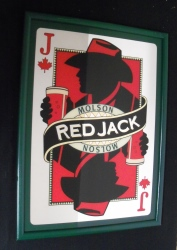 Molson Red Jack Beer Bar Mirror Molson Red Jack Beer Bar Mirror molsonredjackmirror