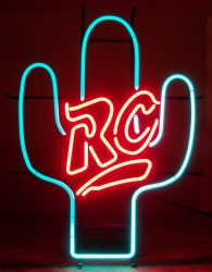 RC Cola Cactus Neon Sign