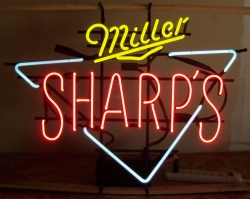 Sharps Beer Neon Sign