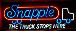 Snapple Truck Neon Sign