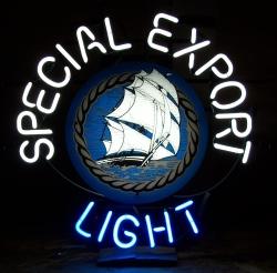 Special Export Light Neon Beer Bar Sign